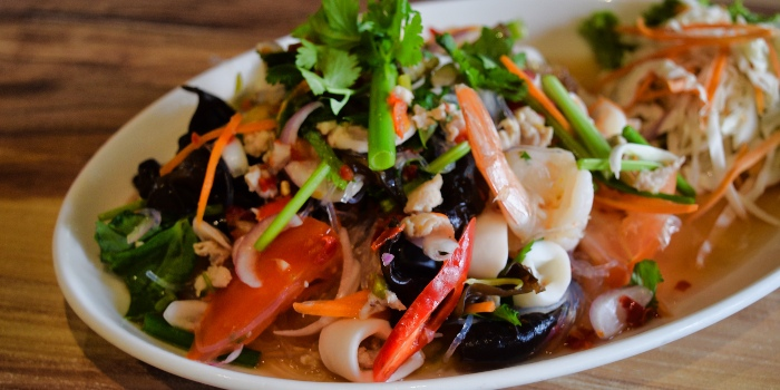 Glass Noodle Salad from Mooks Thai Bistro at Hometeam NS Clubhouse in Bukit Batok, Singapore