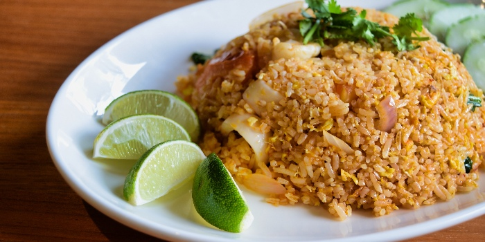 Tom Yum Fried Rice from Mooks Thai Bistro at Hometeam NS Clubhouse in Bukit Batok, Singapore