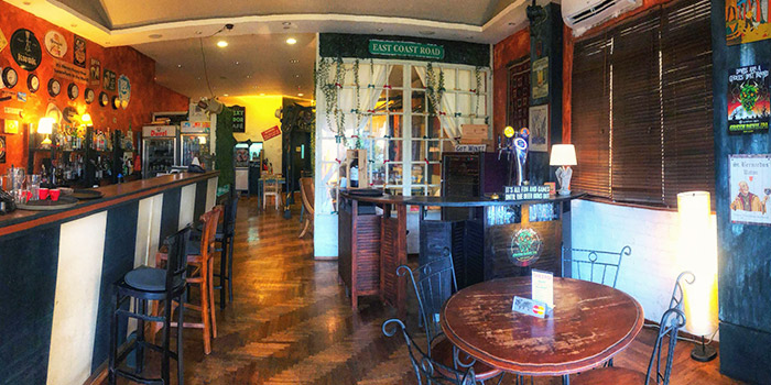 Interior of Next Door Cafe & Taverna in East Coast, Singapore