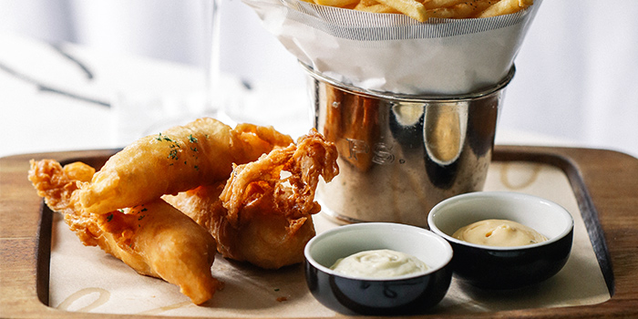 Beer Battered Fish & Chips from PS.Cafe Ann Siang Hill in Chinatown, Singapore