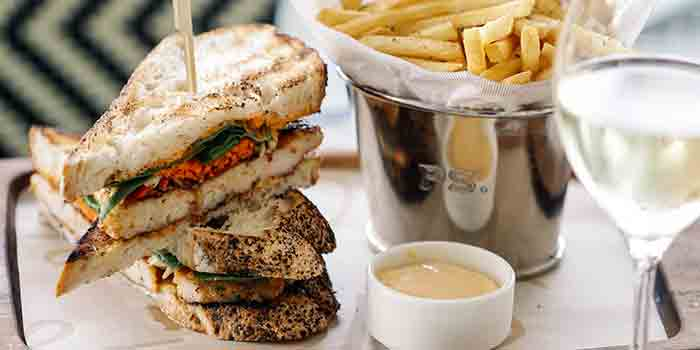 Chargrilled Chunky Prawn Sandwich from PS.Cafe One Fullerton at One Fullerton in Fullerton, Singapore