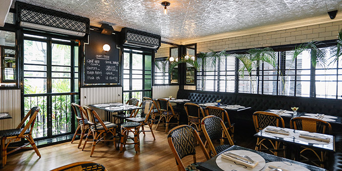 Interior of PS.Cafe Ann Siang Hill in Chinatown, Singapore