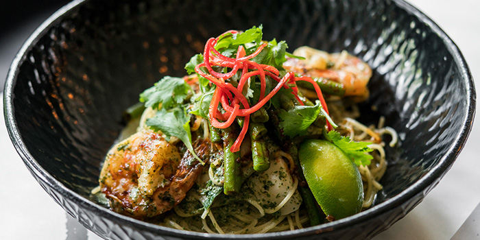 Laksa Leaf Pesto Pasta from PS.Cafe Ann Siang Hill in Chinatown, Singapore