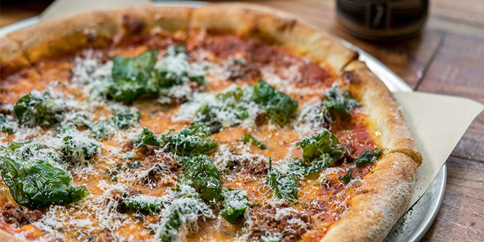Bolognese Pizza from PS.Cafe Martin on Martin Road in Robertson Quay, Singapore