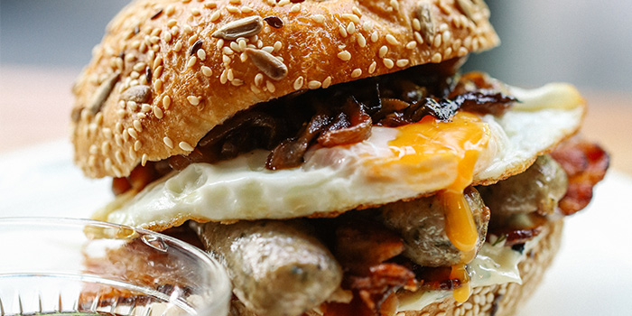 Breakfast Grand Slam Bunwich from PS.Cafe Martin on Martin Road in Robertson Quay, Singapore