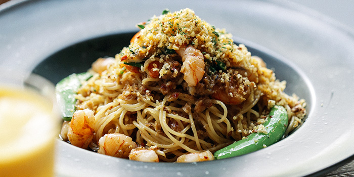 Shrimp Crab Crumb Pasta from PS.Cafe Martin on Martin Road in Robertson Quay, Singapore