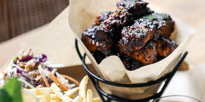 Sticky BBQ Ribs from PS.Cafe Martin on Martin Road in Robertson Quay, Singapore