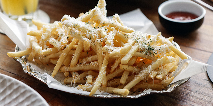 Truffle Shoestring Fries from PS.Cafe Martin on Martin Road in Robertson Quay, Singapore