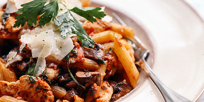 Chicken Rossa Penne from PS.Cafe Palais Renaissance at Palais Renaissance in Orchard, Singapore