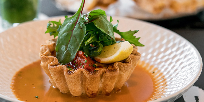 Crab Tart from PS.Cafe Palais Renaissance at Palais Renaissance in Orchard, Singapore