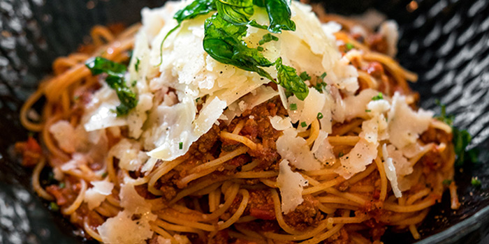 Spaghettini Bolognese from PS.Cafe Palais Renaissance at Palais Renaissance in Orchard, Singapore