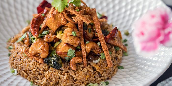 Szechuan Chilli Pepper Chicken Fried Rice from PS.Cafe Palais Renaissance at Palais Renaissance in Orchard, Singapore