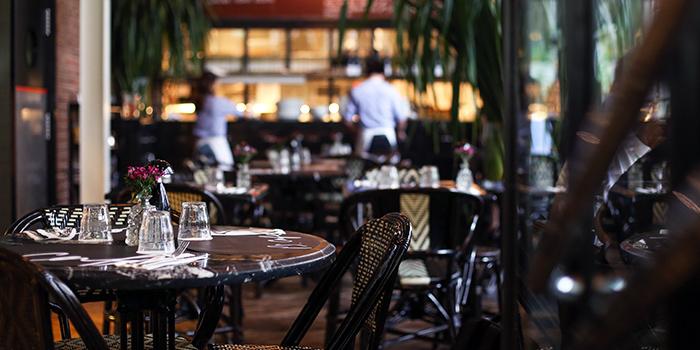 Interior of PS.Cafe Palais Renaissance at Palais Renaissance in Orchard, Singapore