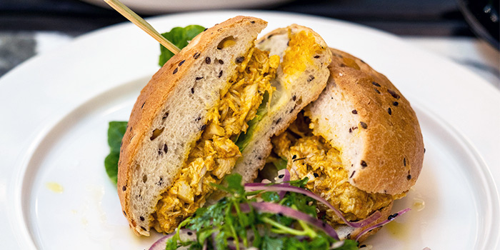 Coronation Chicken Bap from PS.Cafe Raffles City at Raffles City Shopping Centre in City Hall, Singapore