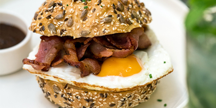 Eggs & Bacon Bunwich from PS.Cafe Raffles City at Raffles City Shopping Centre in City Hall, Singapore