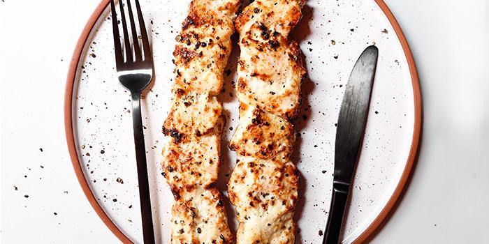 Garlic Yoghurt Chicken from Pita Tree Mediterranean Kitchen & Bar in Boat Quay, Singapore