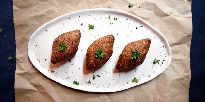 Kibbeh from Pita Tree Mediterranean Kitchen & Bar in Boat Quay, Singapore