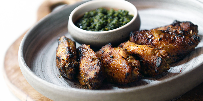 Saffron BBQ Wings from Pita Tree Mediterranean Kitchen & Bar in Boat Quay, Singapore