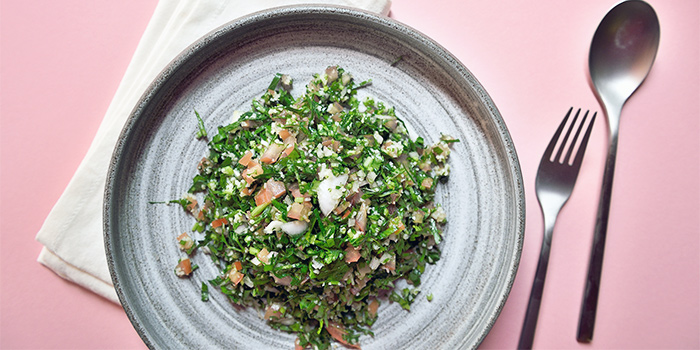 Tabbouleh Salad from Pita Tree Mediterranean Kitchen & Bar in Boat Quay, Singapore