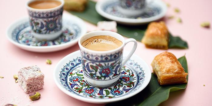 Turkish Coffee Persian Tea from Pita Tree Mediterranean Kitchen & Bar in Boat Quay, Singapore