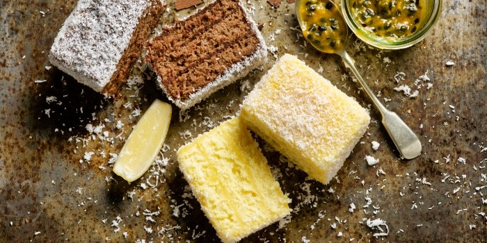 Chocolate Lamington and Passionfruit Lemon Lamington from The House of Robert Timms (Wheelock Place) in Orchard, Singapore