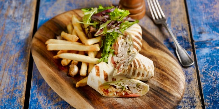 Herb Roasted Chicken Wrap from The House of Robert Timms (Wheelock Place) in Orchard, Singapore
