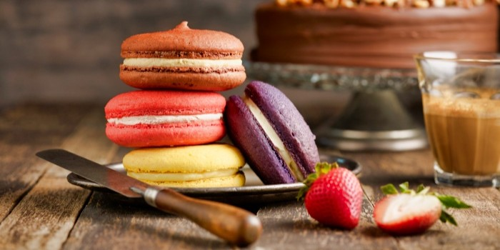 Macarons from The House of Robert Timms (Wheelock Place) in Orchard, Singapore