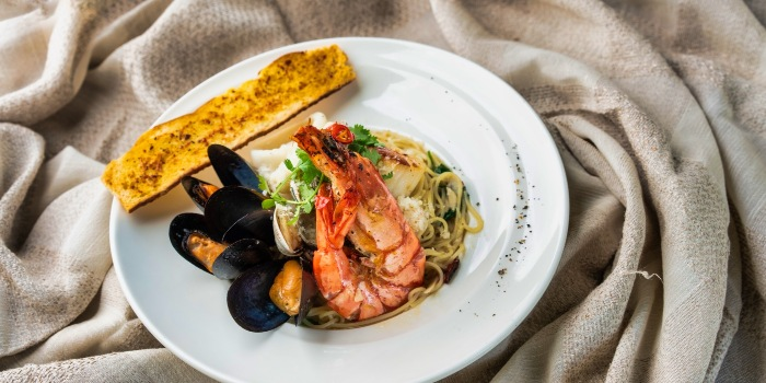 Seafood Capellini  from The Seagrill at Changi, Singapore