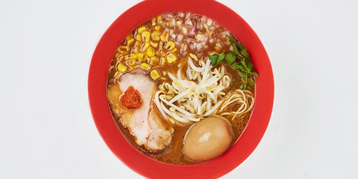 Ajitama Miso Soba from Tsuta Japanese Soba Noodles (Tai Seng) in Paya Lebar, Singapore
