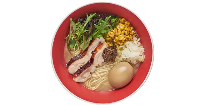 Ajitama Teriyaki Chicken Soba from Tsuta Japanese Soba Noodles (Tai Seng) in Paya Lebar, Singapore