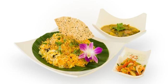 Mutton Biryani from Tulasi Vegetarian Restaurant & Cafe in Little India, Singapore
