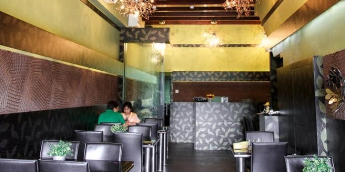 First Floor Interior of Tulasi Vegetarian Restaurant & Cafe in Little India, Singapore