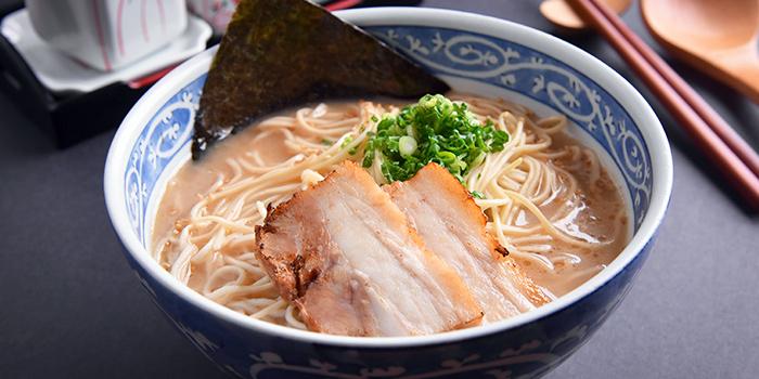 Tonkotsu Ramen from YAYOI Japanese Restaurant (Star Vista) in Buona Vista, Singapore