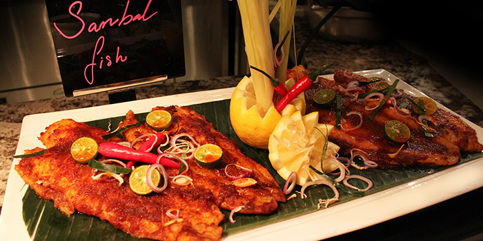 Sambal Fish from Food Capital at Grand Copthorne Waterfront Hotel in Robertson Quay, Singapore