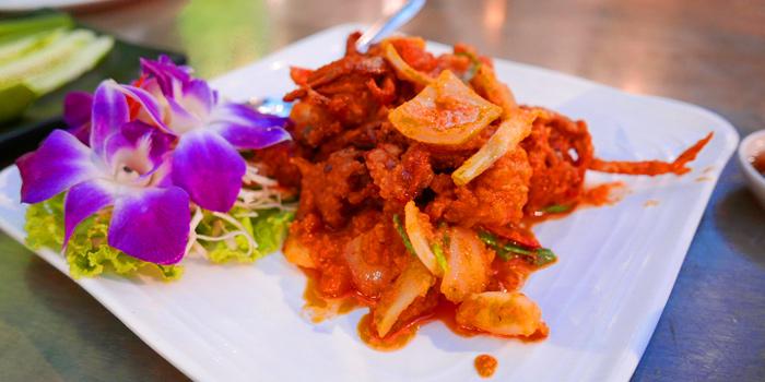 Seafood Curry from The Dishes Seafood & Restaurant at 2194 Charoen Krung Rd Wat Phraya Krai, Bang Kho Laem Bangkok