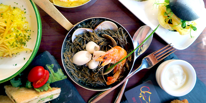 Seafood, OM Tapas, Tsim Sha Tsui, Hong Kong