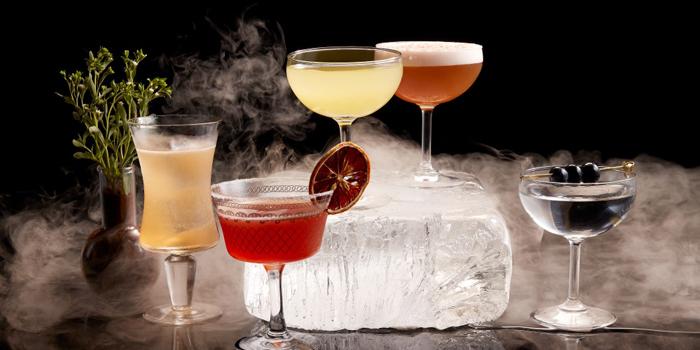 Selection of Cocktail from Wang Hinghoi at 149 Rimtangrodfai-sai Paed-Riu Rd Bangkapi, Huaykwang Bangkok