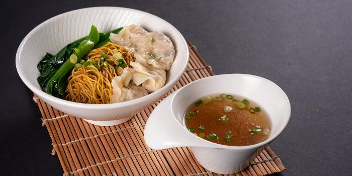 Sautéed Asparagus with Fresh Scallop in XO Sauce from TCC @ OSC in Orchard, Singapore