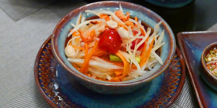 Som Tum Thai from Thai Thai by Mesamis Cafe at Grande Centre Point Hotel Soi Mahat Lek Luang 1, Ratchadamri Road Bangkok