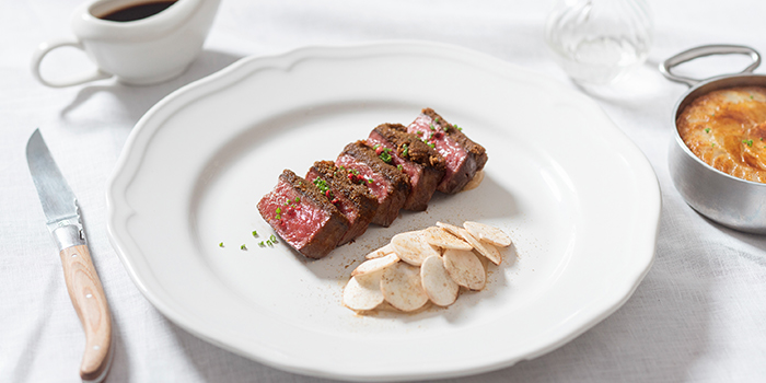 Striploin from The White Rabbit serving Modern European cuisine in Dempsey, Singapore