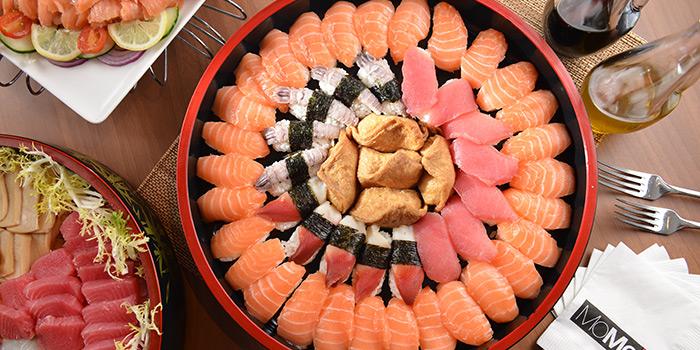 Sushi, MoMo Cafe (Sai Ying Pun), Sai Ying Pun, Hong Kong