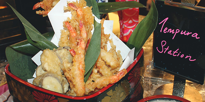 Tempura Station from Food Capital at Grand Copthorne Waterfront Hotel in Robertson Quay, Singapore
