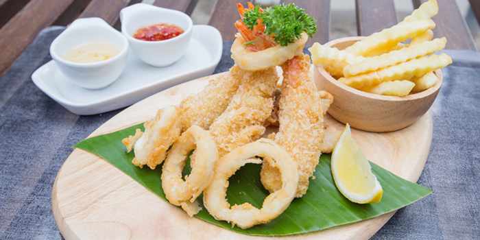 Tempura from Heyha Bar & Restaurant in Kamala, Phuket, Thailand