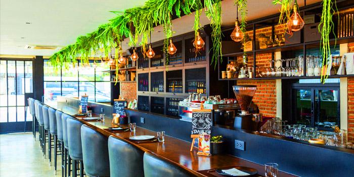The Bar of Thyme Eatery & Bar at 411/2 Nang Linchi Rd Chong Nonsri Yannawa, Bangkok