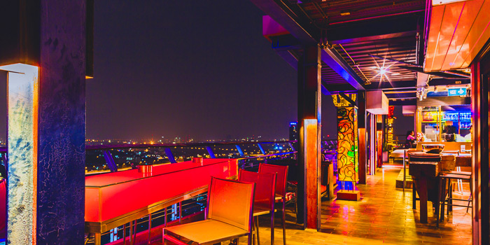 The Roof View of The Roof Gastro at Siam@Siam Design Hotel Bangkok 865 Rama 1 Road Wang Mai, Patumwan Bangkok