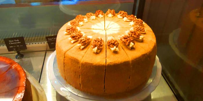 Top Carrot Cake from Holey Artisan Bakery at 245/12 Soi Sukhumvit 31 Klongton Nua, Wattana Bangkok
