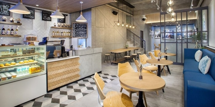 Ambience 1 at Phos Coffee & Eatery, Alam Sutera