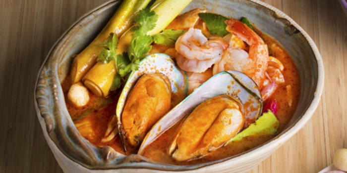 Dish 1 at Thai Street, Sudirman