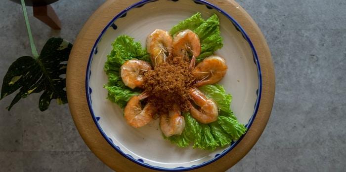 Dish 3 at FuFuFu, Menteng
