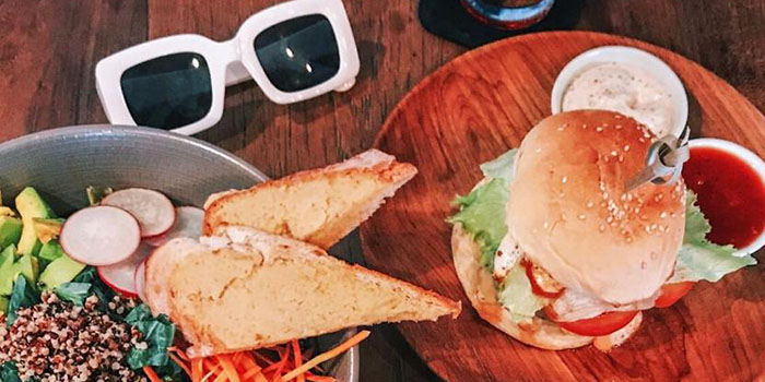 Burger Menu from MyWarung (Ubud) at Ubud, Bali